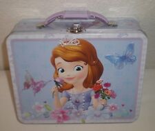 Disney Princess Sofia The First Tin Metal Snack Lunch Box, Purse, Carry All #2