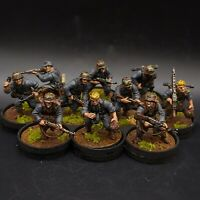 Pro Painted 28mm Bolt Action German Waffen SS Squad ×10 ww2