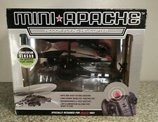 MINI APACHE Indoor Flying Helicopter  Black Stelth