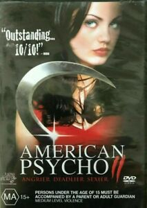 American Psycho 2 : New Old Aus Stock : NEW DVD * RARE OOP * FREE EXPRESS POST *