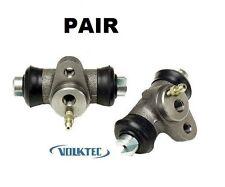 (SET) Rear Wheel Brake Cylinder 68-79 VW Volkswagen Super Beetle Bug 113611053B