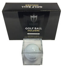 12 ALL NEW GOLF BALL GOLFBALL DISPLAY CASE CUBE HOLDERS MAX PRO