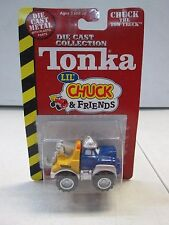 Tonka  Maisto Die Cast Lil' Chuck & Friends Chuck the Tow Truck Dark Red Card