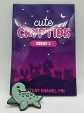 Cute Cryptids Mystery Enamel Pin Series 2 Nessie Loch Ness Monster