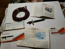 Vintage Aerograph Super 63' Airbrush by DeVilbiss Made in England NICE