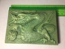 Vintage Chinese Dragon ceramic lid.