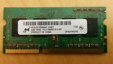 Micron 2GB PC3-10600S DDR3 1333MHz Laptop Memory Ram MT8JSF25664HZ