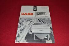 Case Tractor Auger Unloaders Mixer Grinder Mixer Dealer's Brochure YABE14