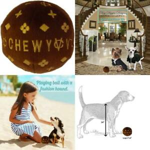 Dog Diggin Designs Runway Pup Collection | Unique Large, Chewy Vuiton Ball