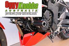 OK630 KAWASAKI Z250SL 2015-16 OGGY KNOBBS NO CUT KIT (Black Knobs) Frame Sliders