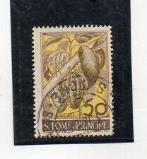 Santo Tome y Principe Flora valor del año 1948 (AN-491)