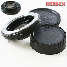 AF Confirm Contax Yashica C/Y Mount Lens to Nikon F Optical Adapter D4 D600 D800