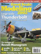 Fine Scale Modeler Great Scale Modeling 2002 Thunderbolt Revell Monogram Ships