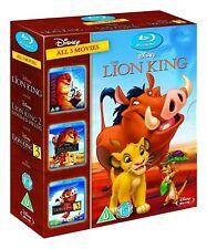 The Lion King Trilogy 1-3 Blu-ray 1 2 & 3 Simbas Pride and Hakuna Matata