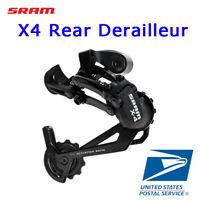 Sram RD X4 Rear Derailleur 7-8 / 8-9 Speed Medium Cage / Long Cage Black
