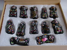 CHINESE MUD DOGS, FIGURINES, HIGHLY COLLECTIBLE, FULL SET
