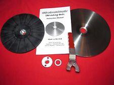 """9"""" """"Easy Shrink""""™ Shrinking Disc KIT & Wrench, English Wheel Grinder Shrinker"""