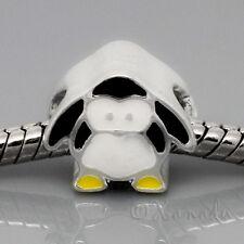 Penguin European Bead - Baby Emperor Penguin For European Charm Bracelets
