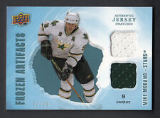 Mike Modano 2008-09 UD Artifacts Frozen Artifacts Dual Blue Game Jersey Card