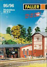 FALLER - Katalog 95 / 96 - Prospekt Modellbau Eisenbahn - H-5720