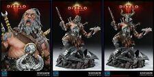 Sideshow Blizzard Employee Diablo III Overthrown Statue Barbarian NIB SP#051/350