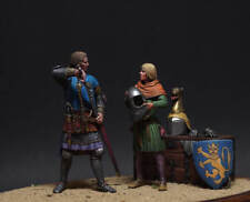 "TARTAR MINIATURES 75-103 ""Ready for battle"" scenetta 75mm"
