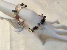 Handmade Semi Precious Stone and Silver Bracelets