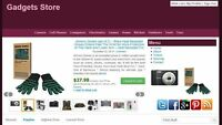 Gadgets Store Automated Amazon Affiliate Website Make Money + Free Hosting