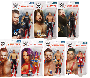 WWE Figures - Basic Series 95 & 96 - Mattel - Brand New - Sealed