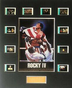 Rocky IV - 35mm Film Display