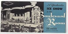 ICE SHOW in the Boulevard Room The Stevens. Chicago - A Hilton Hotel. (BI#BX51C)