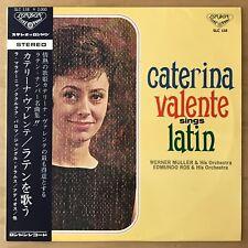 CATERINA VALENTE Sings Latin JAPAN LP W/OBI FLIP BACK SLEEVE DEEP GROOVE SLC 138