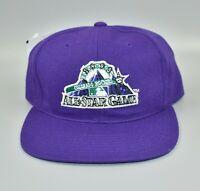 Vintage 1998 MLB All-Star Game Colorado Rockies Coors Field Snapback Cap Hat