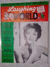 December 1956 Laughing World Magazine, Marilyn Monroe Confession Elvis Presley