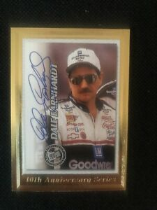 Dale Earnhardt Press Pass 10th Anniversary Series Trading Card 2003