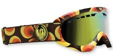 Dragon DXS Womens Snow Goggles Leanne Pelosi Gold Ion + Bonus Amber Lens