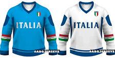NEW 2020 Team Italy World Championship Hockey Jersey Limited Fan Edition Italia