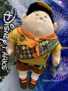 """Disney Parks Pixar Russell Scout from Up! 15"""" Plush Doll NEW 10th Anniversary"""