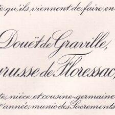 Marie  Jeanne Du Douët De Graville De Brachet De Peyrusse De Floressac 1912