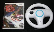 lot volant nintendo WII + jeu speed racer le jeu video complet wii u