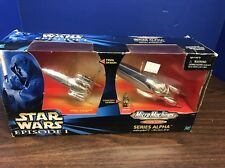 MICRO MACHINES STAR WARS ACTION FLEET TPM ROYAL STARSHIP ALPHA SERIES BOXED