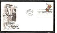 US SC #  2872 Stocking FDC . Postal Commemorative Society Cachet