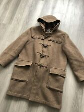Gloverall Brown Original Duffle Coat - Size 42