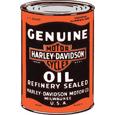 Harley-Davidson® Genuine Oil Can Blank Inside Greeting Card HDL-20009