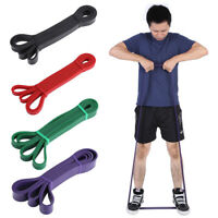 Heavy Duty Exercise Resistance Latex Loop Bands Fitness Home Yoga Gym Pull Up