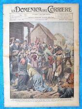 La Domenica del Corriere 11 settembre 1921 Croce Rossa-Dirigibile R38-Mons.Ratti