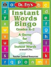 Instant Words Bingo, Grades K-2 : A Game for Learning Instant Words sight words