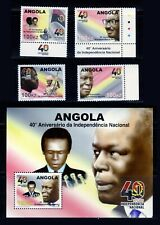 Angola 2015 - Independency 40th anniversary - set + S/S MNH