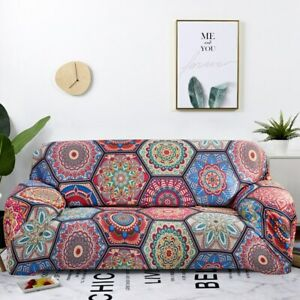 Bohemia Slipcovers Sofa Cover Stretch Sectional Couch Corner Cover Sofa Cover