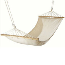 200cm Cotton Hammock Garden Camping folding outdoor Hammock Wooden Bar Discount